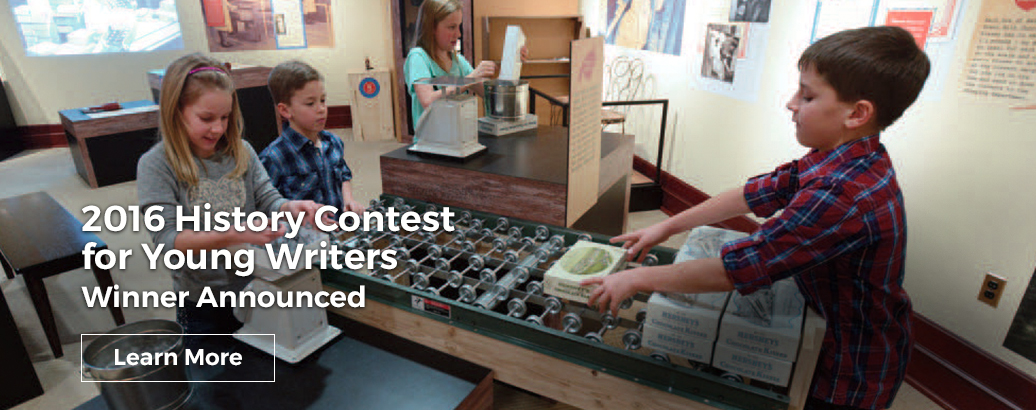 2016 History Contest for Young Writers Winners Announced