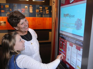The Hershey Story Museum Touchscreen Interactive Learning