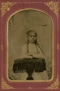 Amanda Straw, 9 years old, 1884