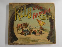 "Game ""Kelb,"" made by McLoughlin Bros. Inc, c. 1900"