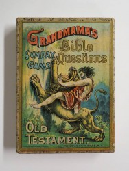 "Game ""Grandma's Bible Questions"" by McLoughlin Bros. Inc, c. 1887"
