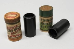 "Phonograph Cylinders, 1895-1912, including the Christmas carols, ""O Come All Ye Faithful"", and ""Angels from the Realms of Glory"""