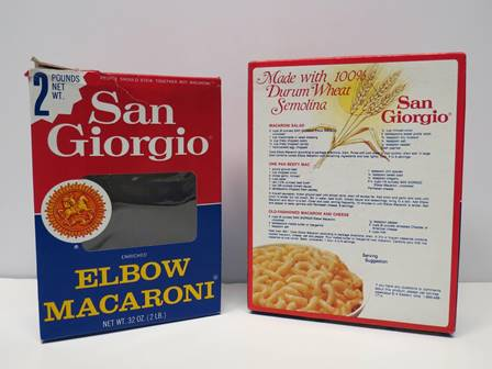 Sg Pasta Boxes Visit The Hershey Story Museum