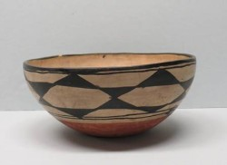 Dough Bowl, Kewa (Santo Domingo) Pueblo, 1880-1910