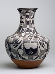 Jar, Acoma or Cochiti Pueblo, 1880-1910