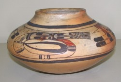 Polychrome Bowl. Hopi, 1880-1920
