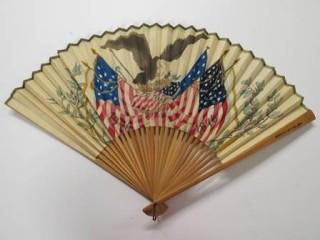 1876 Centennial Exposition hand fan