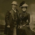 Charles Harley Parker and Amanda Straw, Atlantic City, NJ, c. 1905