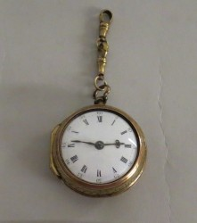 Pocket watch made by Oensalger, c. 1835-1842