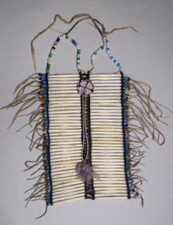 Hair Pipe Breastplate, 1880-1920, Plains (specific group unknown).