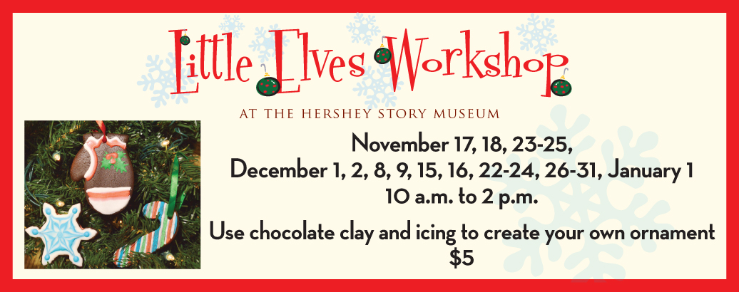 Little Elves Workshop: Use chocolate clay to create an ornament