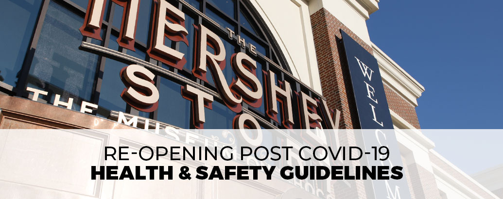 Re-Opening Post COVID-19 Health & Safety Guidelines
