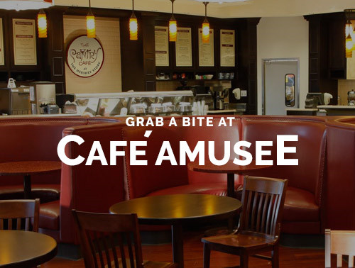 Cafe aMusee at the Hershey Story